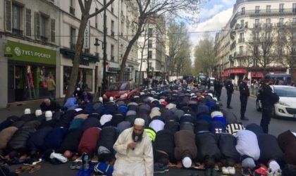 France : une centaine d'élus tentent d'empêcher une prière de rue