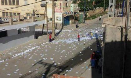 Béjaïa: deux centres de vote saccagés par des citoyens à Boudjelil