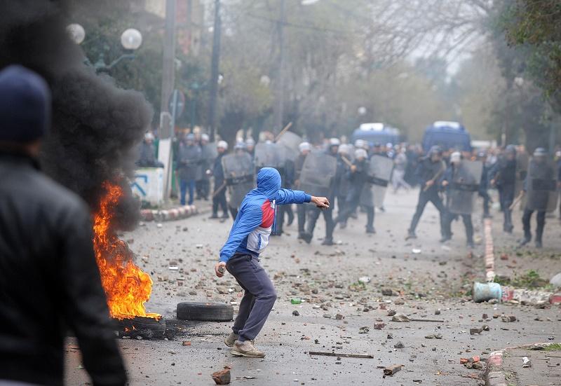 Les forces de sécurité ont empêché des émeutiers de commettre des actes de vandalisme