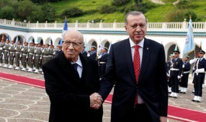 Erdogan lynché par la presse en Tunisie