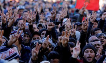 Les habitants de Jerada cassent le mur de la peur et crient leur colère contre le Makhzen