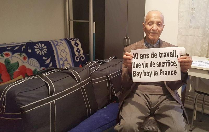 A la veille de la visite de Macron en Algérie, Addra qualifie la situation des personnes âgées issues de la première génération des émigrés vivant en France d'inacceptable.