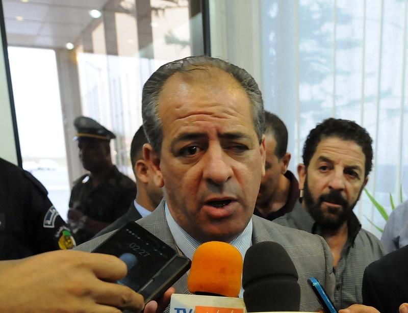 Ould Ali s'est réuni avec le président de l'Union des confédérations sportives africaines (UCSA), l'Egyptien Ahmed Nasser