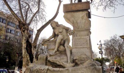 La statue de la Fontaine de Aïn El-Fouara saccagée par un islamiste