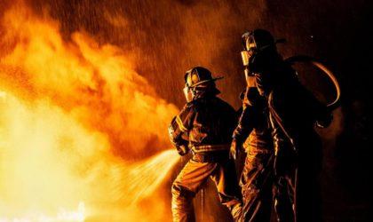 Un incendie détruit 12 chalets à l'annexe de l'ENA à Hydra