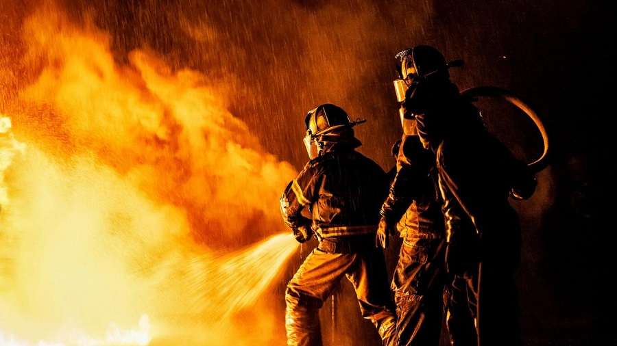 Incendie ENA
