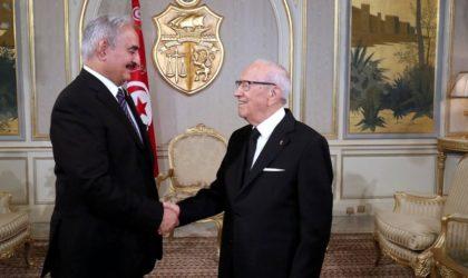 Le président tunisien explique pourquoi le règlement de la crise libyenne traîne