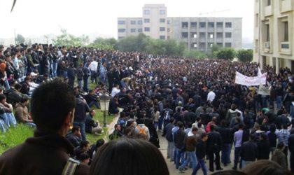 Les étudiants appellent à une marche contre les lois antisociales à Béjaïa