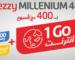 Djezzy lance l'offre Millenium 400