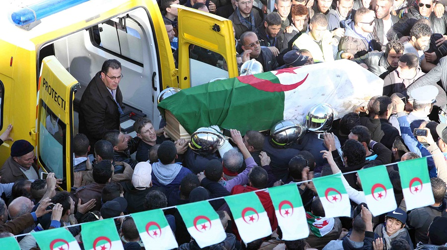 enterrement Hocine Aït Ahmed