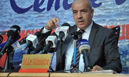 Necib : «62 milliards de dinars pour le financement de nouveaux programmes du secteur hydrique»