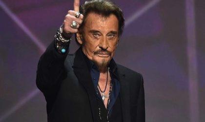Le chanteur français Johnny Hallyday est décédé à l'âge de 74 ans