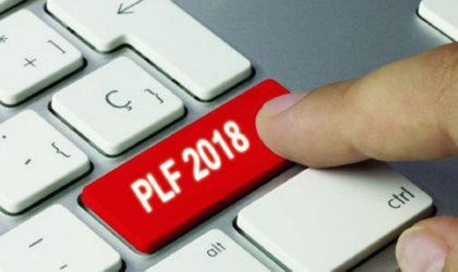 Loi de finances pour 2018: des mesures pour soutenir la sphère productive et renflouer les recettes