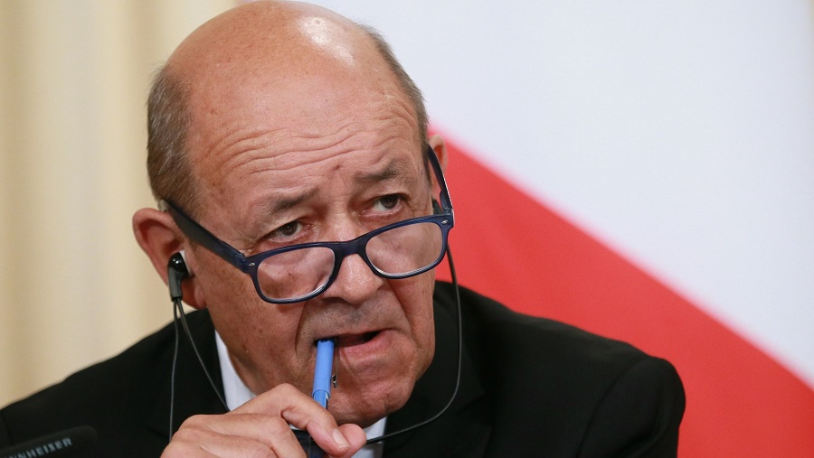 Le Drian russe