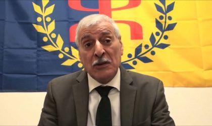 Ferhat Mehenni se compare à De Gaulle et appelle les «jeunes Kabyles» à prendre les armes