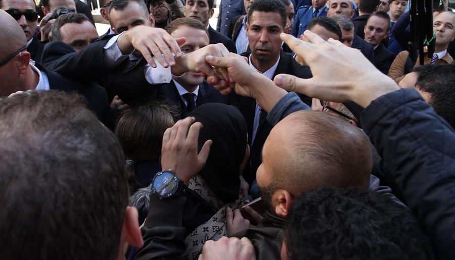 Macron histoire algérie