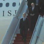 Macron arrivée