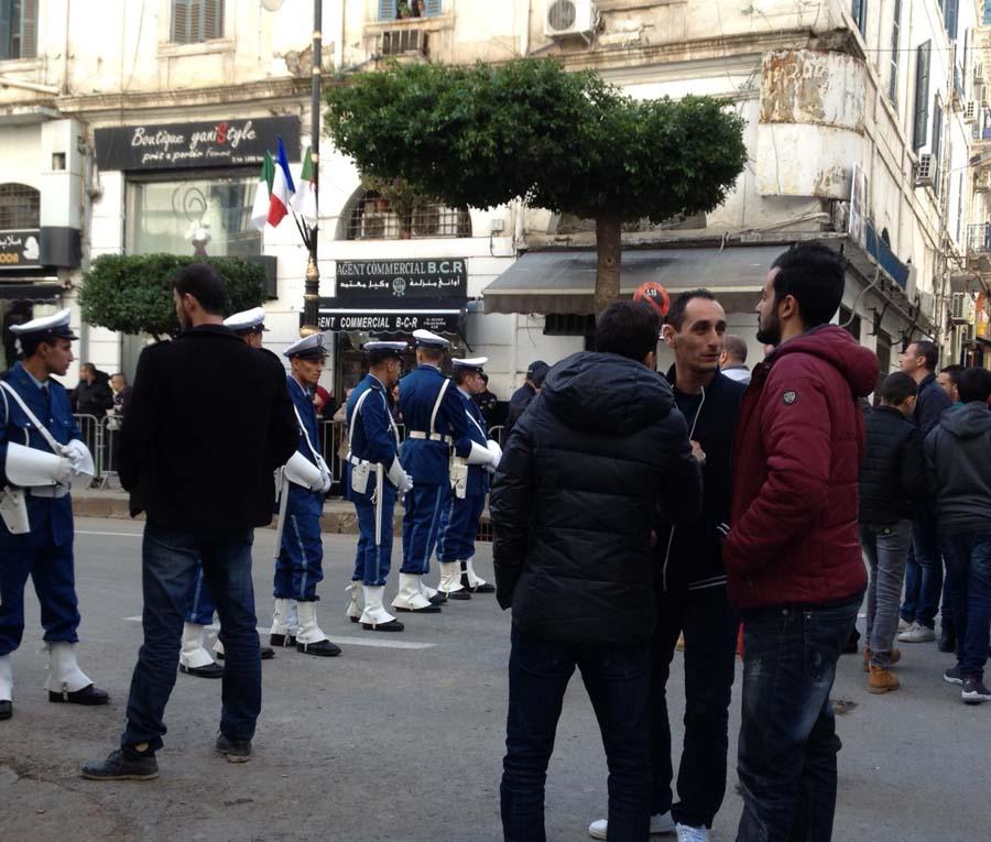 Macron et Bouteflika