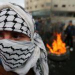 Manifestation Palestiniens