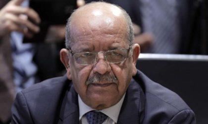 Messahel reçoit une délégation parlementaire turque