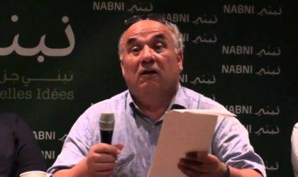 Nacer Djabi interdit de conférence à l'université d'Alger