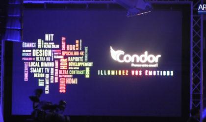 Condor lance sa télévision Cristal QD