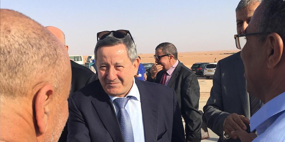 Le mémorandum d'entente a été paraphé en présence du PDG de Sonatrach, Abdelmoumen Ould Kaddour, et du PDG d'ENI, Claudio Descalzi