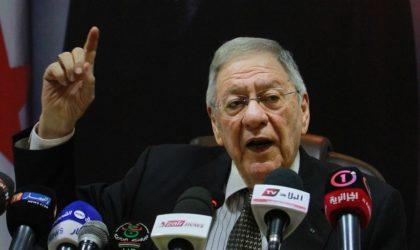 Ould-Abbès : «Laissez le président Bouteflika terminer son mandat !»
