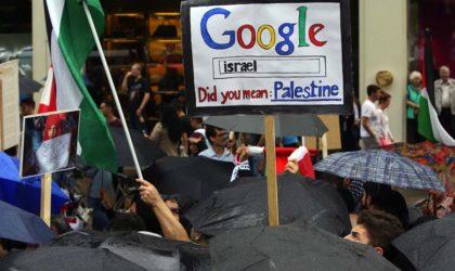 Des internautes sionistes déterrent un sondage pour retirer la Palestine de Google
