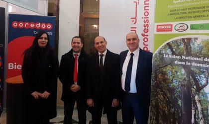 Ooredoo parraine le Salon national de l'investissement dans le secteur des forêts à Tlemcen