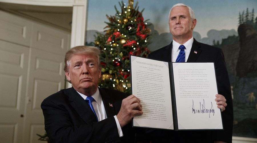 Trump Jérusalem
