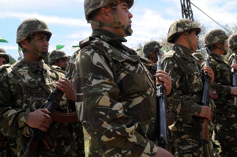 Cinq éléments de soutien aux groupes terroristes, en possession d'armes à feu, ont été arrêtés lundi à Batna par un détachement de l'Armée nationale populaire (ANP) et des éléments de la Gendarmerie nationale