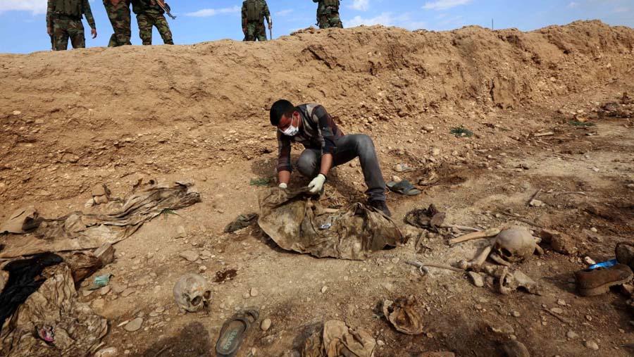charnier Raqqa