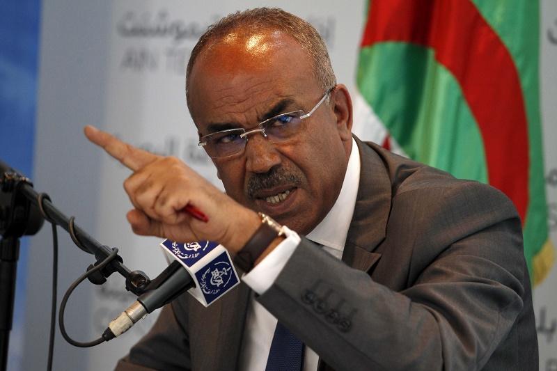 Noureddine Bedoui, ministre de l'Intérieur, des Collectivités locales et de l'Aménagement du territoire. New Press