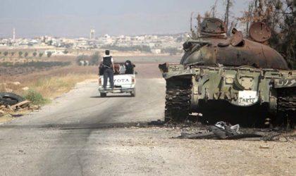L'armée syrienne prend le contrôle de huit villages dans la province de Hama