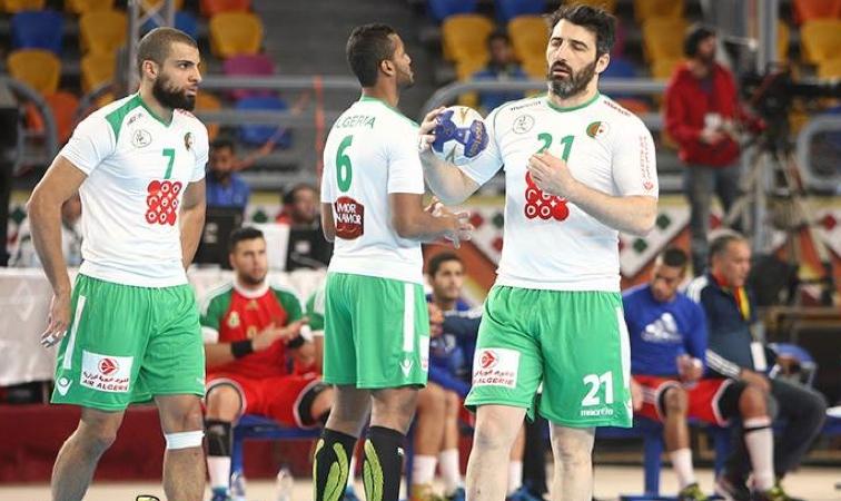 L'équipe nationale de handball. D. R.