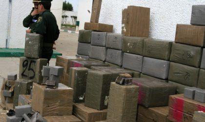 Plus de 6 quintaux de kif traité marocain saisis à Béchar par les forces de sécurité