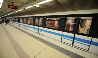 Métro d'Alger: deux nouvelles extensions seront opérationnelles en janvier 2018