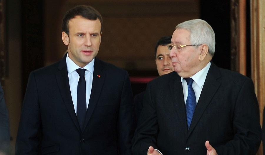 Emmanuel Macron Algérie