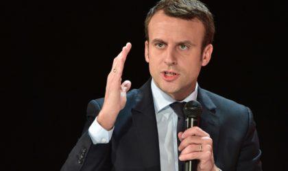 Macron conseille la jeunesse algérienne de regarder plutôt vers l'avenir
