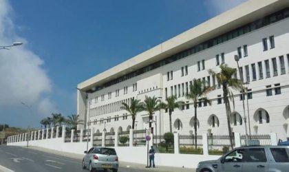 L'Algérie condamne l'attaque perpétrée contre un pétrolier saoudien