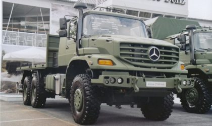 Livraison de 638 véhicules produits par la Safav Mercedes-Benz de Tiaret