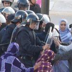 Manifestation de solidarité avec Abdelmoula El-Hafidi, en grève de la faim depuis plus de 2 semaines