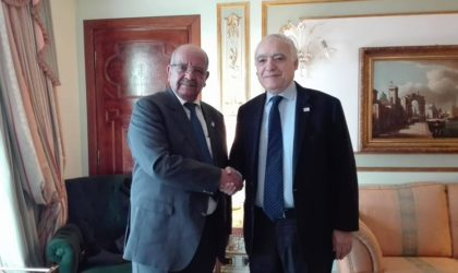 Messahel s'entretient à Rome avec Angelino Alfano et Ghassane Salame
