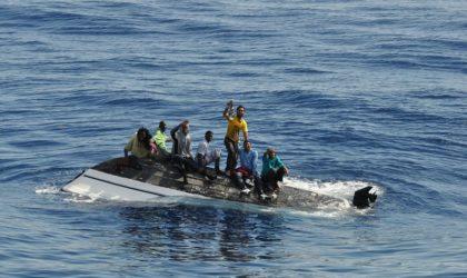 Oran: sauvetage de 10 candidats à l'émigration clandestine au nord des côtes de Mostaganem