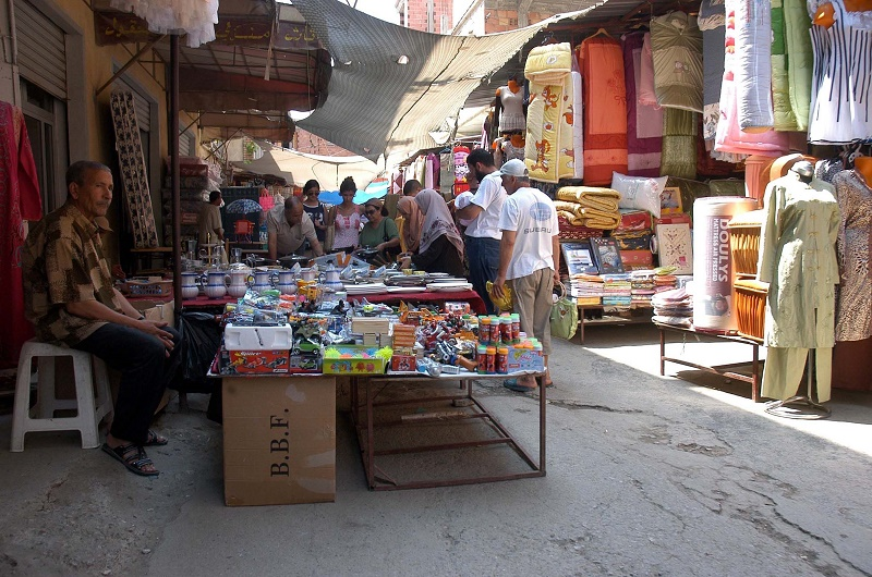 85 nouveaux marchés informels sont apparus, alors que 216 ont fait leur réapparition après leur éradication