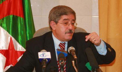 Ouyahia: «Nous avons été injustement accusés de fraude en 1997»