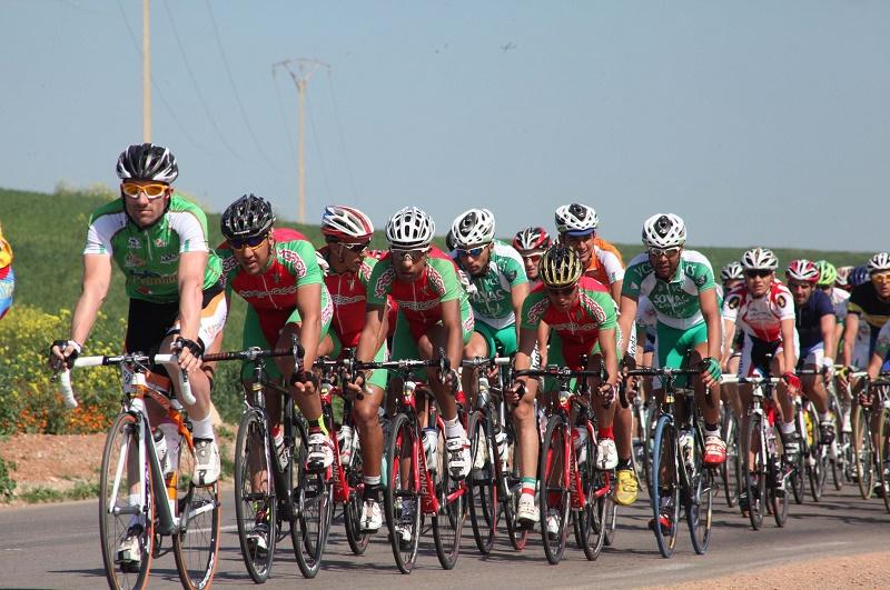 Les cyclistes représentent le GSP, Sovac, l'ASSN, l'IRB El-Kantara (Biskra) et la LABC de Blida