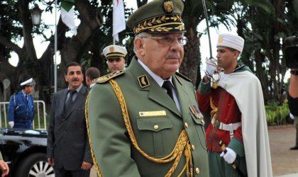Gaïd Salah met en garde contre tout dessein maléfique visant l'Algérie