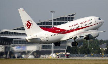 Un avion d'Air Algérie à destination de Beyrouth rebrousse chemin